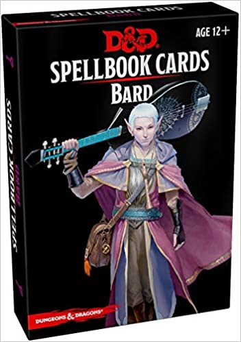 Bard Spell Cards