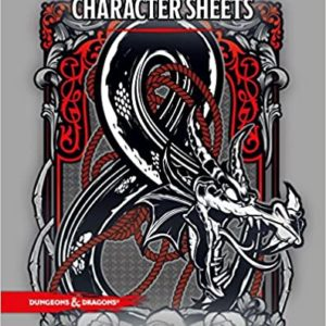 Character Sheets 5th Ed