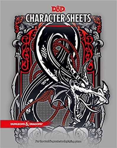 Character Sheets 5th Ed