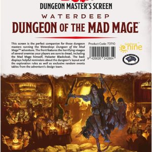 Dungeon of Mad Mage DM Screen