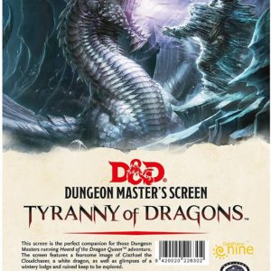 Tyranny of Dragons DM Screen