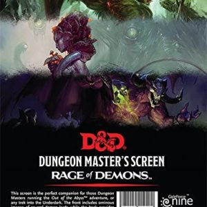 Out of the Abyss DM Screen